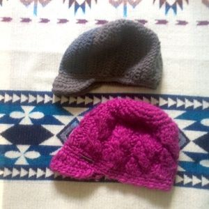 Accessories - Pair of Knit Beanies